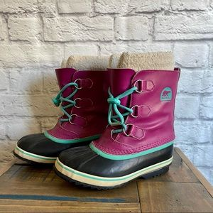 SOREL Girls / Women's Winter Snow Boots with Liners
